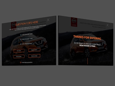 Nissan quiz pages