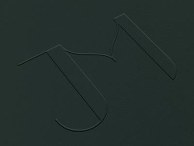 JM Monogram jm logo initials monogram