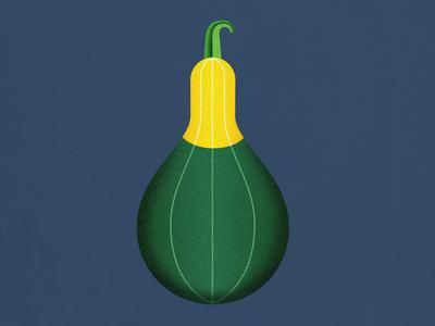 Bicolor Spoon Pumpkin