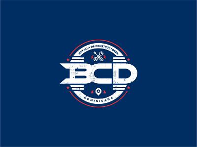 BCD 2020 vintage logo identity branding identity design logo car automotive autos reality tv reality show marca typography logotipo branding