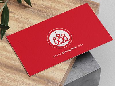 Identificador YoSoyCeo printing print type flat marca logo design typography icon logotipo branding