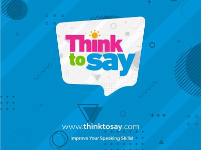 Identificador www.thinktosay.com website design diseñoweb webdesign logo marca design typography logotipo branding
