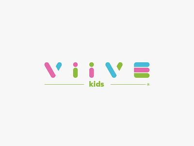 Identificador Viive kids kids printing spain factory fashion brand moda marca design typography branding logotipo logo
