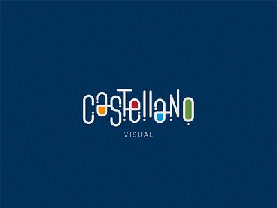 Castellano Visual freelancer marca visual visual design tipografia type logo design typography logotipo branding