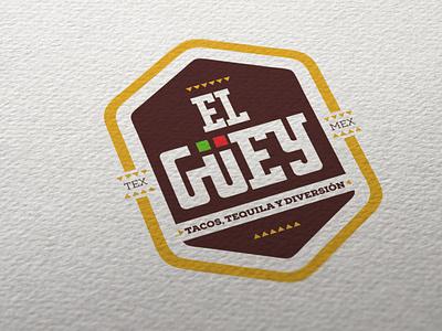 Propuesta El Guey restaurant marca typography logotipo branding