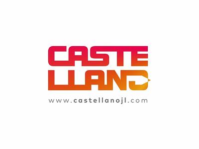 CASTELLANO IDENTIFICADOR PERSONAL design typography marca icon logotipo branding
