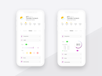 UI daily 021 - Home Monitoring Dashboard