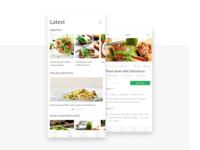 UI daily 040 - Recipe