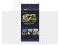 UI daily 045 - Food and Drink Menu