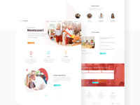 Wonderkids Website Redesign
