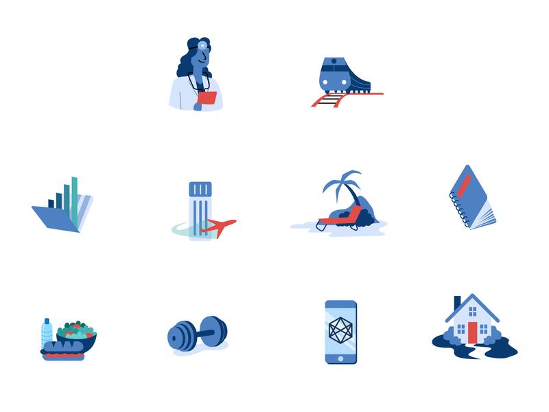 Flat Vector Illustrations