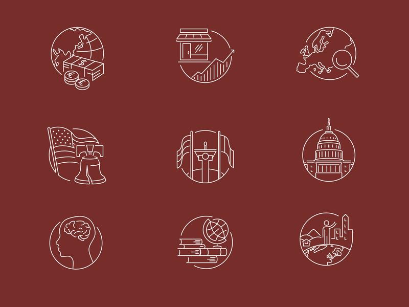 History & Politics Course Illustrations