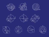 Design & Mathematics Course Illustrations