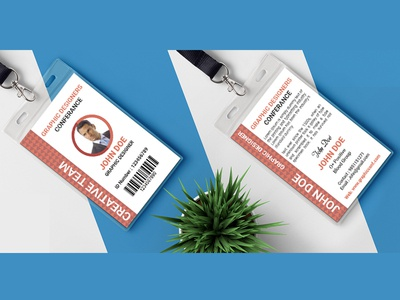 Conference Id Card Concepts
