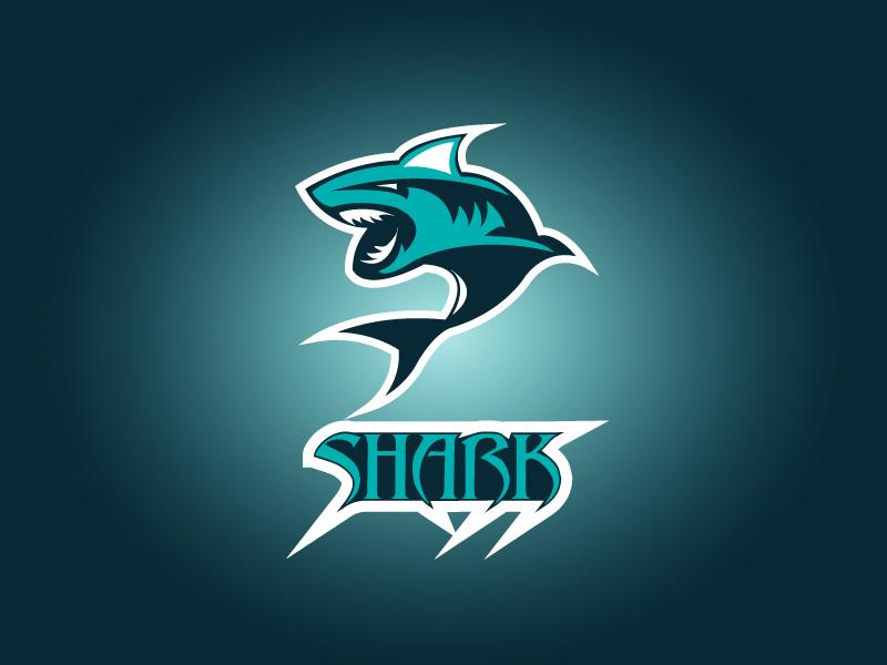Shark Logo Concept Design branding web logo print design typography vector illustration design adobe illustrator creative design shark logo concept design