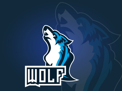 Wolf Logo Concept Design