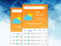 Weather App #dailyui #037