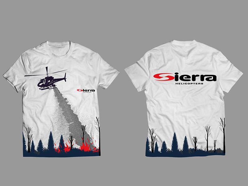 Sierra T-shirt Design branding adobe photoshop vector illustraion t-shirt design sierra t-shirt design