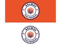 Delmac Power Equipment Logo Concept
