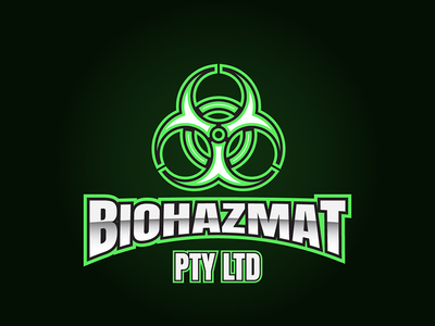 Biohazmat Pty Ltd Logo Concept