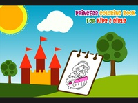 Princess Coloring Book for Kids and Girls