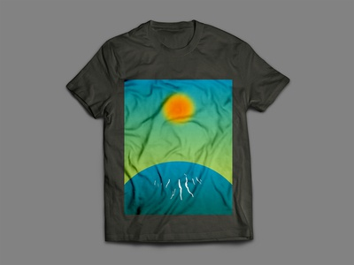 Sunrise Tshirt Design Concept