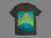 Sunrise Tshirt Design Concept