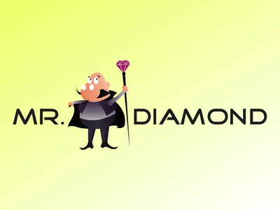 Mr. Diamond Logo Concept