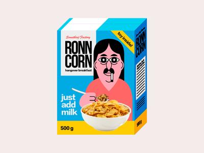 Ronn Corn somethingfactory ronncorn packing