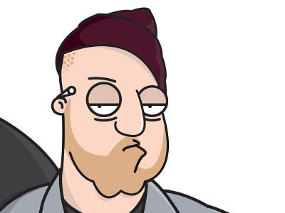 EL-P Family Guy vector illustrator