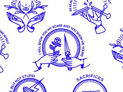 Some of my favorites badge design logo design design branding logo 2d logo illustration identity branding brand identity branding and identity