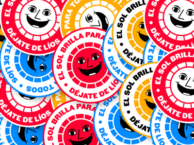 Work in progress for Déjate de Líos badgedesign badge logo design design branding badge design illustration identity branding brand identity branding and identity