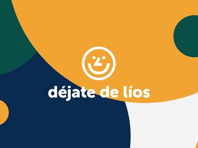 Déjate de Líos Animated logo logo smile face logo smile logo logo animation animation skateboarding surf design surf logo surf motion designer motion graphics motiongraphics motion art motion motion graphic minimal logo logo design animated logo motion design motion logo