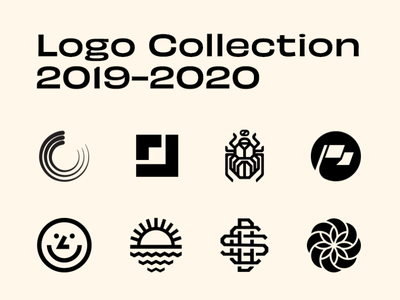Logo Collection - 2019-2020 logo 2d badge design badge design illustration identity branding brand identity branding and identity logos logodesign logotype logo design logo