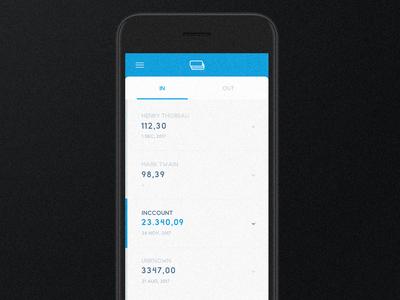 Inccount 1 fintech app ui design startup app fintech app interface design app interface app ui