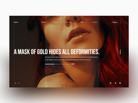 A mask of gold! - the color series#06