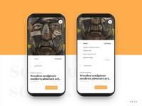 Sculpture Studio Store App Product Details