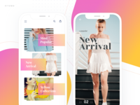 Fashion app - Catagories
