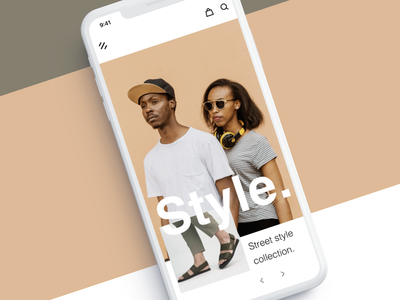 Style (Mobile Responsive) fashion fashion brand responsive design ecommerce style composition clean minimal layout ritzmo ui
