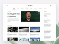 My Planet - News blog
