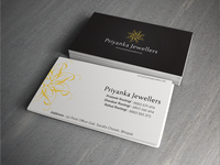Priyanka Jewellers | Business Card