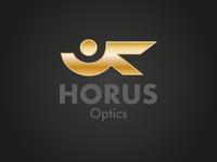Horus Optics Logo Concept