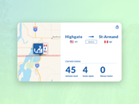 Daily UI :: Border Wait Times