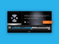 Daily UI :: Audio Player
