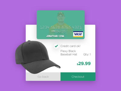 Daily UI :: Credit Card Checkout