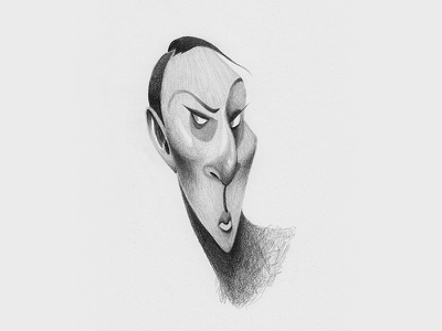 Pessimism disney curious doodle black and white minimal people pencil character illustration drawing