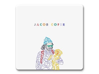 Jacob Cofer minimalist squiggle fun illustration