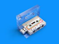 Memories Stick Audio Cassette