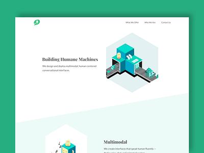 Botanic Website Landing Page ux visual design design web ui