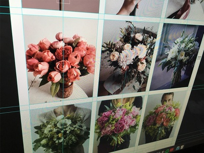 Web Concept For The Best Florist Artist - Natalia Tarkowska natalia tarkowska florist artist web design leobeard